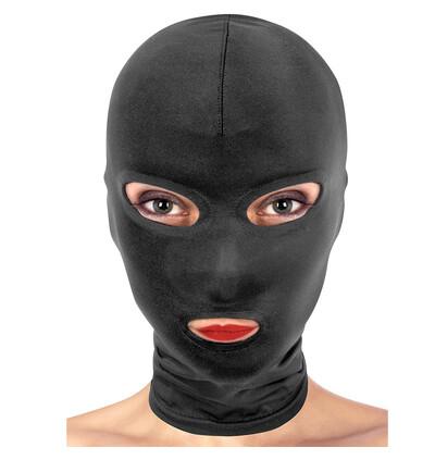Fetish tentation Maska Open Mouth and Eyes Hood - maska na twarz