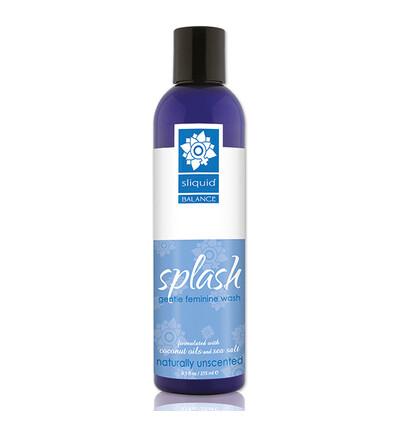 Sliquid Balance Splash Unscented 255 ml - Płyn do higieny intymnej
