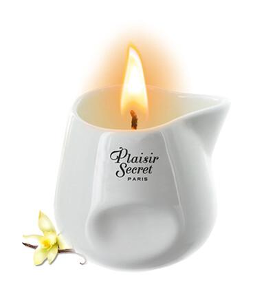 Plaisir secrets Bougie Candle VANILLA - Świeca o zapach wanilii