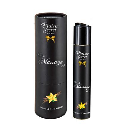 Plaisir secrets Huile Massage Oil VANILLA - Olejek o zapachu wanilii
