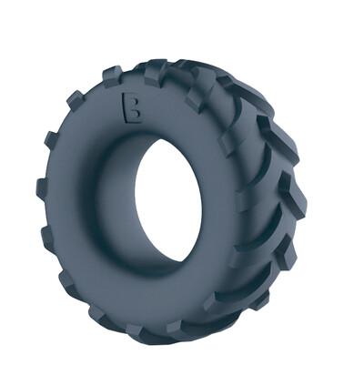 Boners Tire Cock Ring - elastyczny pierścień erekcyjny