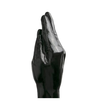 All Black - dildo klasyczne 39 cm