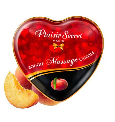 Plaisir secrets Massage Candle PEACH - Świeca do masażu, zapach brzoskwini