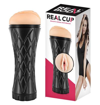 Real body Real Cup Vaginal Masturbator - masturbator klasyczny