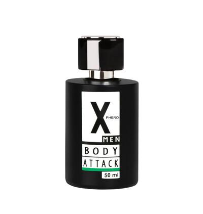 Aurora cosmetics X-Phero Body Attack Green for men - feromony męskie