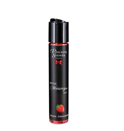 Plaisir secrets Huile Massage Oil STRAWBERRY - Olejek o zapachu truskawski