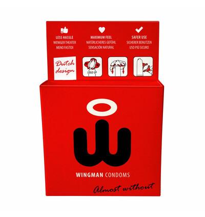 Prezerwatywy - Wingman Condoms