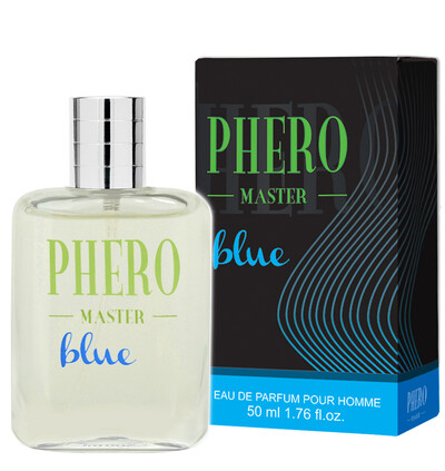 Aurora cosmetics Phero Master Blue for men - feromony męskie