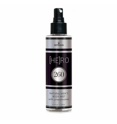 Sensuva HE(RO) 260 Male Pheromone Body Mist 125 ml - Mgiełka do ciała dla panów