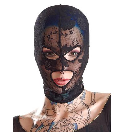 Bad Kitty Kopfmaske Spitz - Maska BDSM na twarz