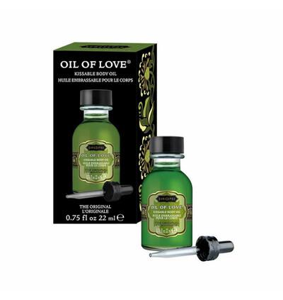 Kama Sutra Oil of Love The Original 22 ml - Olejek stymulujący, Waniliowo Czekoladowy