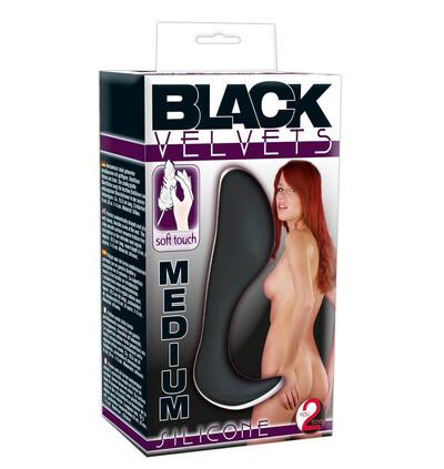Black Velvets Medium Plug - Korek analny