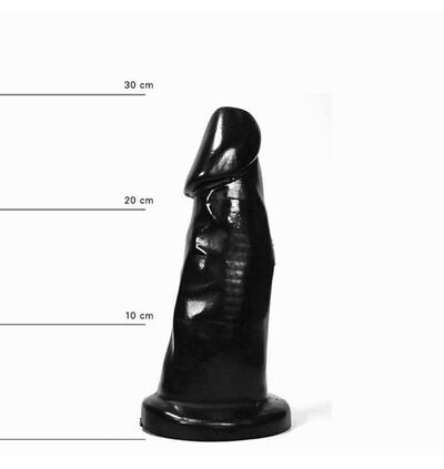 All Black - dildo klasyczne 29 cm
