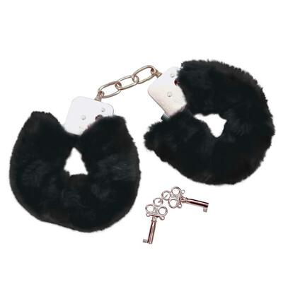 Bad Kitty Handcuffs Black - Kajdanki
