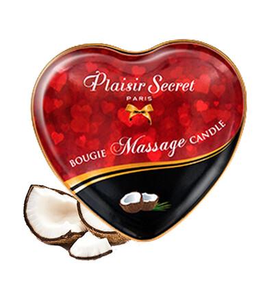 Plaisir secrets Massage Candle COCONUT - Świeca do masażu, zapach kokosu
