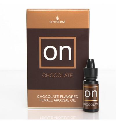 Sensuva ON Arousal Oil for Her Chocolate 5 ml - Olejek stymulujący do łechtaczki