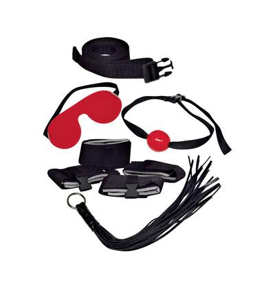 Bad Kitty Bondage Set-Wibrator - Zestaw BDSM