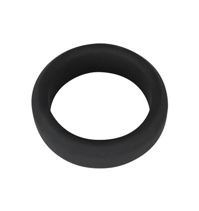 Black Velvets Cock Ring 3,8Cm - Elastyczny pierścień erekcyjny