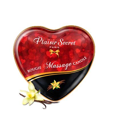 Plaisir secrets Massage Candle VANILLA - Świeca do masażu, zapach wanilii