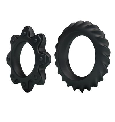 Baile Ring Flowering Silicone - zestaw elastycznych pierścieni erekcyjnych