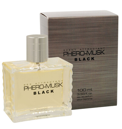 Aurora cosmetics Phero-Musk Black for men - feromony męskie