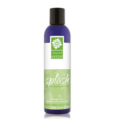 Sliquid Balance Splash Honeydew Cucumber 255 ml - Płyn do higieny intymnej
