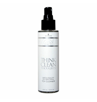 Sensuva Think Clean Thoughts Anti Bacterial Toy Cleaner 125 ml - Spray czyszczący