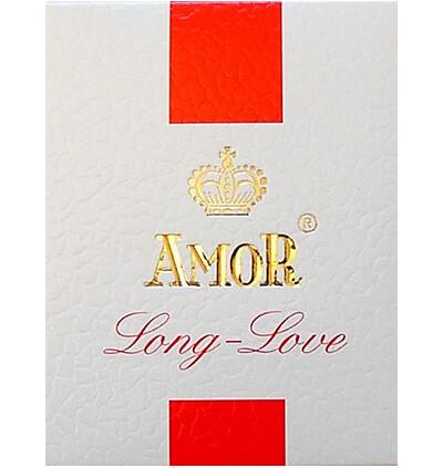 Amor Long Love Plain 3Pcs - Prezerwatywy