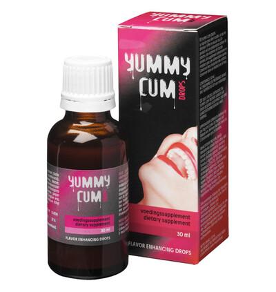Cobeco Yummy Cum Drops - Preparat poprawiający smak nasienia