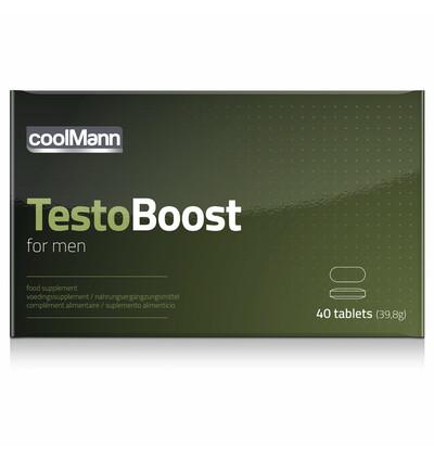 Cobeco Coolmanntestoboost (40 Tab) - Tabletki wzmacniające dla panów