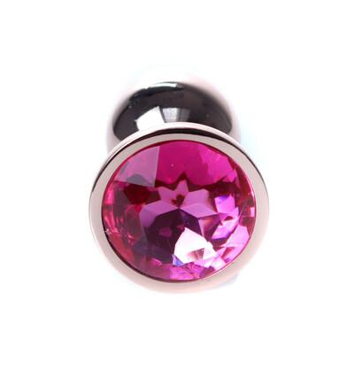 Boss Series Jewellery Red Gold Pink - Korek analny, różowy