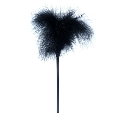 Boss Series Feather Tickler Black - Piórko do łaskotania, czarne