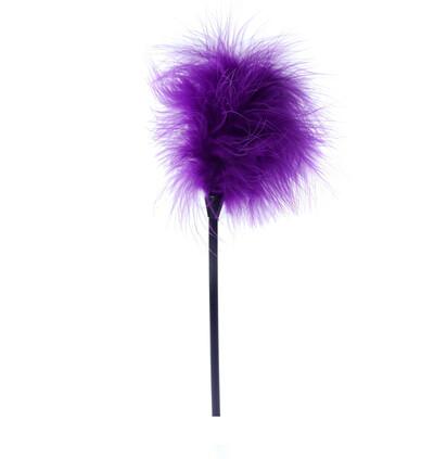 Boss Series Feather Tickler Purple - Piórko do łaskotania, fioletowe