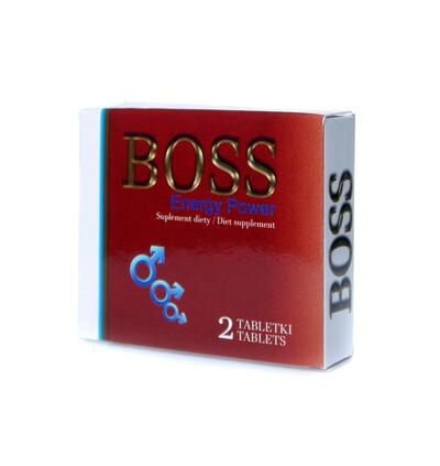 Boss Series Boss Energy Power Ginseng 2 Szt. - Kapsułki na erekcję