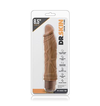 Blush Dr. Skin Cock Vibe 10 8.5Inch Cock - wibrujące dildo