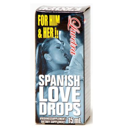 Cobeco Spanish Love Drops Lavetra 15 Ml - środek zwiększający libido