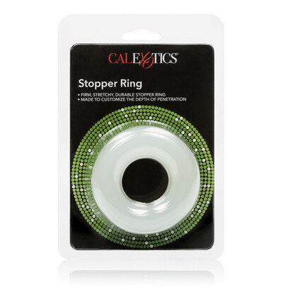 CalExotics Stopper Ring - Elastyczny pierścień erekcyjny