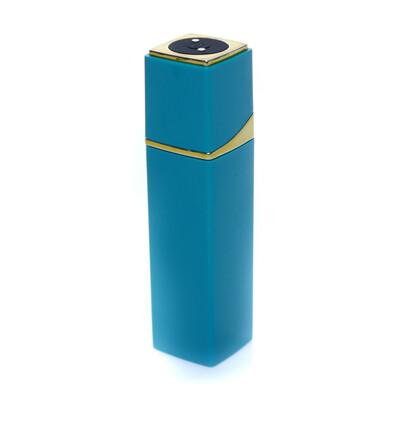 Boss Series Lipsick Vibrator Blue - Miniwibrator w kształcie szminki, niebieski