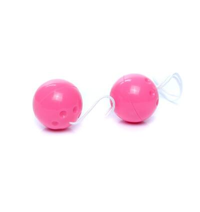 Boss Series Duo Balls Pink - Kulki gejszy, różowe