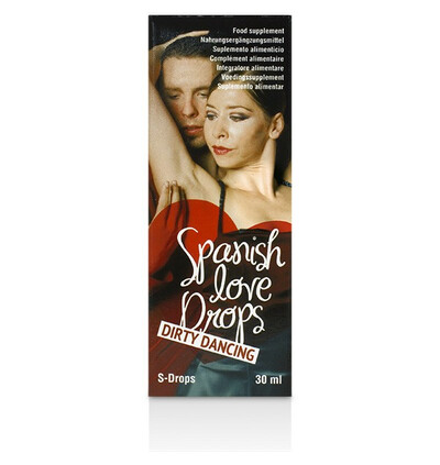 Cobeco Spanish Love Drops Dirty Dancing 30 Ml - środek zwiększający libido