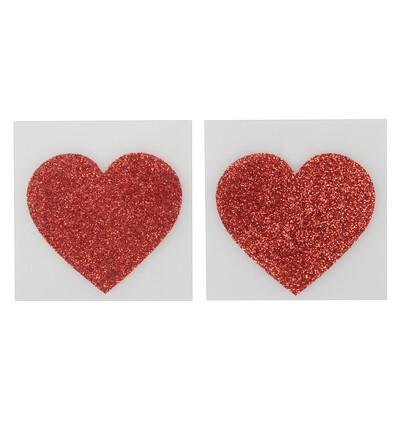 Cottelli Nipplesticker Heart-Nasutniki