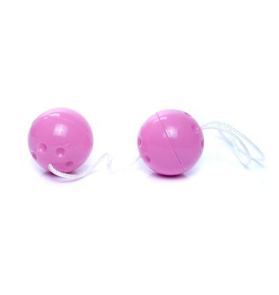 Boss Series Duo Balls Purple - Kulki gejszy, fioletowe