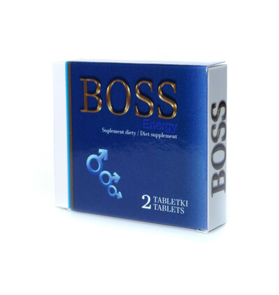 Boss Series Boss Energy Ginseng 2 Szt. - Kapsułki na erekcję