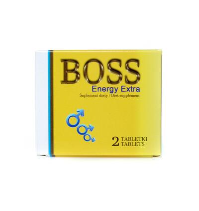 Boss Series Boss Energy Extra Ginseng 2 Szt. - Kapsułki na erekcję