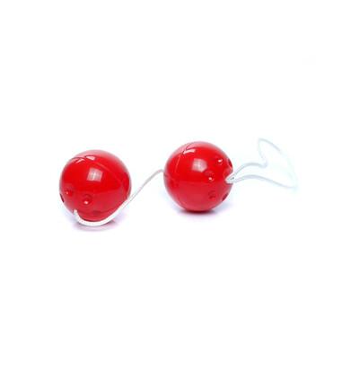 Boss Series Duo Balls Red - Kulki gejszy, czerwone