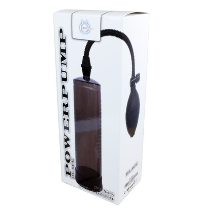 Boss Series Powerpump Black - Pompka powiększająca penisa, czarna