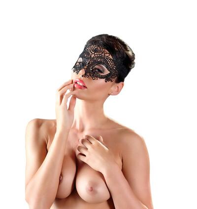 Cottelli Maske Stickerei 01-Maska na twarz
