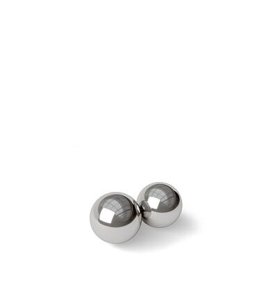 Blush Noir Stainless Steel Kegel Balls - kulki gejszy