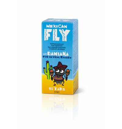 Cobeco Mexican Fly - tabletki na libido