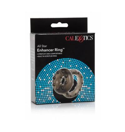 California Exotic Novelties All Star Enhancer Ring - Elastyczny pierścień erekcyjny